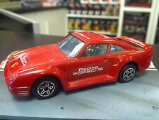 Bburago Porsche 959 1:43 rood