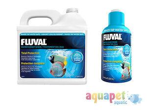 Fluval Aquaplus Water Conditioner 30ml 250ml 500ml 2ltr Aquarium
