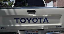 TOYOTA TAILGATE LOGO BLUE 89-95 WITH SR5 V6 DECALS