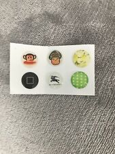 6 Burberry Home Button Sticker for Apple iPhone 4 iPad &iPod