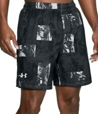 Under Armour mens heatgear Launch SW Printed 7 In Shorts size L