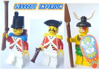 Lego Pirate 1 vintage non-pirate minifigures - soldier islander FREE POST