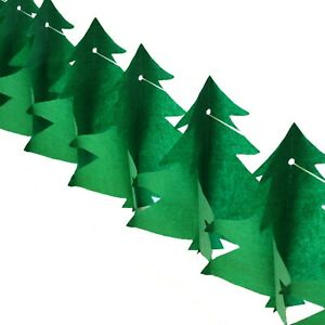 3m Paper Christmas Tree Garland Hanging Ceiling Vintage Christmas Decoration New