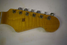 MJT/USACG Custom Order Aged Nitro highly flamed maple Stratocaster neck w/tuners
