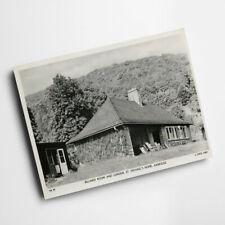 New listing A6 PRINT - Vintage Somerset - Billiard Room & Garden, St Michael's Axbridge