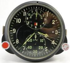 *MINT* Virtually NEW AChS-1 USSR Military Air Force Aircraft Cockpit Clock MIG 7