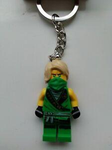 LEGO NINJAGO LLOYD MINIFIGURE KEYRING KEYCHAIN 853997