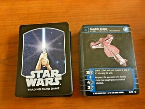 2002 WotC STAR WARS tcg/ccg ATTACK OF THE CLONES 60-card common set (x2) MINT