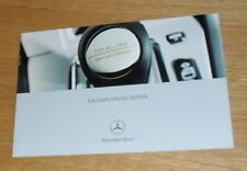 Mercedes SLK Special Edition Brochure 2003-2004