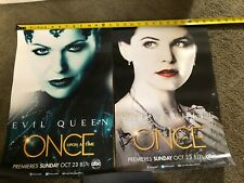 ABC SIGNED BY CREATORS POSTER ONCE UPON A TIME LANA PARRILLA GINNIFER GOODWIN
