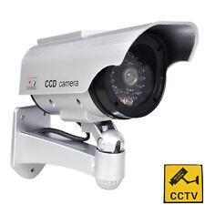 Phot-R Solar Powered Dummy Camera CCTV Security Surveillance Cam Fake IR LED TH