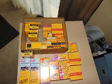 Vintage KODAK Film Lot Rolls Kodachrome, Kodak Gold, kodacolor, sealed Expired