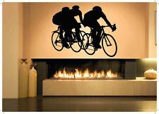 Wall Decal Sticker Bedroom sport bike bmx bicycle riding boy kids nursery bo2826