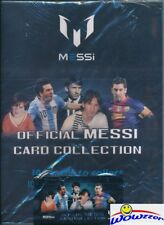 Lionel Messi Official Card Collection Starter Kit-Collectors Binder+Foil Pack!