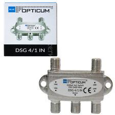 DiSEqC Schalter 4-1 Umschalter 4 Satelliten Switch Opticum HDTV 4K UHD Opticum G