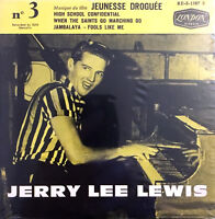 Jerry Lee Lewis CD Single Jerry Lee Lewis No.3 - Replica - France (M/M)