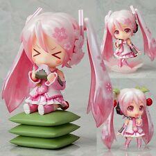 New Japanese Anime Vocaloid Hatsune Miku Sakura Nendoroid Figure 10cm No Box