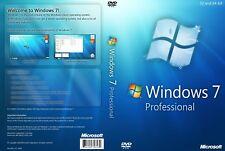 Windows 7 Professional 32 e 64 Bit chiave di attivazione con danni HDD PC Laptop