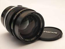 Olympus OM Zuiko 135mm F4.5 AUTO-MACRO lens. Stock No c0993