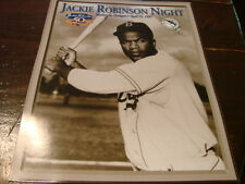 Jackie Robinson Night Photo Florida Marlins stadium giveway Brooklyn Dodgers