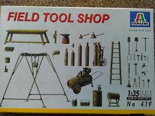Italerie 1/35, Field tool shop Kit NO.419