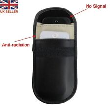 Signal Blocker Mobile Phone Blocking Key Fob Signal Jamming Pouch Black