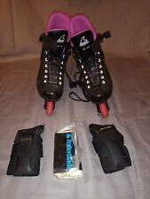 Zetrablade Rollerblade Inline Skates With Wrist Guards And Original Manual