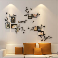 Love 3D Photo Frame Acrylic Set Wall Collage Picture Art Home Living Room Decor