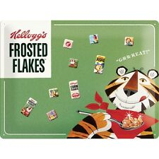 Magnettarfel Magnet Board Pinnwand Kelloggs Frosted Flakes + 9 Magnete