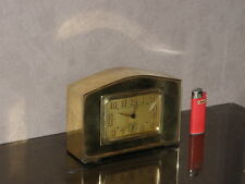vintage clock alarm Bayard retro desk  Art Deco design Mechanics uhr old bauhaus