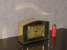 vintage clock alarm Bayard retro desk  Art Deco design Mechanics uhr old bauhaus