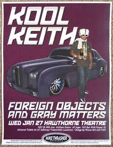 KOOL KEITH 2010 Gig POSTER Portland Oregon Concert