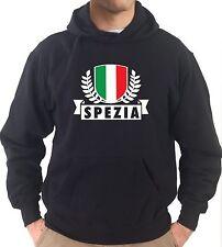 Felpa con cappuccio KJ1801 La Spezia Città d'Italia Ultras