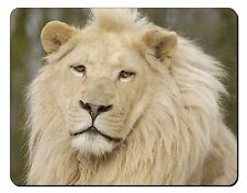 Gorgeous White Lion Computer Mouse Mat Christmas Gift Idea, AT-44M