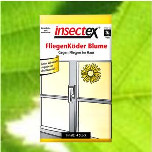 Terrasan Insectex Fliegen Köder-Blume Fliegenfänger 4-16 Stück #GB