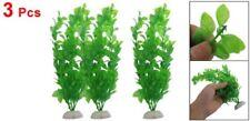 """3 pz 10.6 """"Altezza piante di plastica verde artificiale per acquario Acquar C1M5"""