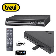 Lettore DVD Mini Full HD Trevi DXV 3550 USB Nero