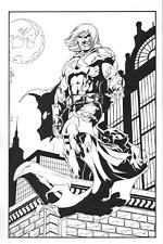 Catman Commission by Jim Calafiore - Batman Cowl, Secret Six, DC Comics