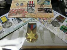 More details for british war medal covers from 1700 - 2000 pmc  benham with information sheet ml