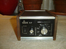 DBX 117, Decilinear, Stereo Compressor Expander, Vintage Unit