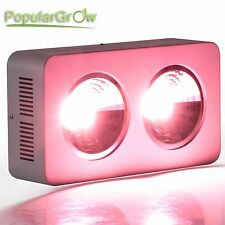 PopularGrow 400W COB LED Grow Light Full Spectrum 90° Reflector for indoor plant