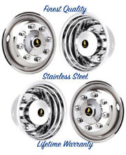 "19.5"" CHEVY C4500 C5500 C6500 TOPKICK KODIAK 8 LUG WHEEL SIMULATOR RIM COVERS ©"