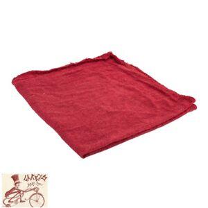 "SUNLITE RED SHOP 14"" x 14"" COTTON TOWELS--BOX OF 50"