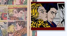 """GIRLS' ROMANCES 78 (1961) Roy Lichtenstein """"In The Car"""" art inspiration; RARE"""