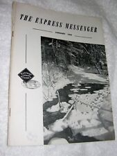 Railway Express Messenger Magazine January, 1959