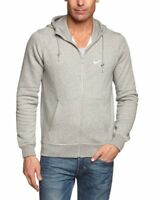 3ff5ec47346b Nike Men s Sportswear Club Fleece Full Zip Grey Hoodie (823531-063) L
