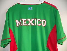New Mexico Mens Large National Team Soccer Green Red White Gol Jersey Nwt