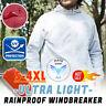 Men's Women Casual Jackets Windproof Ultra-Light Rainproof Windbreaker Top US