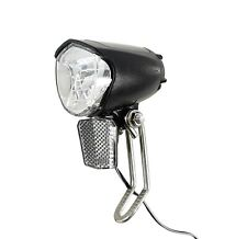 LED eBike Fahrradlampe 70 Lux Frontlampe Scheinwerfer Nabendynamo StVZO