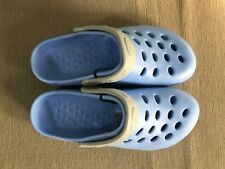 BNWT Ladies Girls  Sz 5 Blue/Grey Rivers Clog Style Summer Beach Sandals Shoes